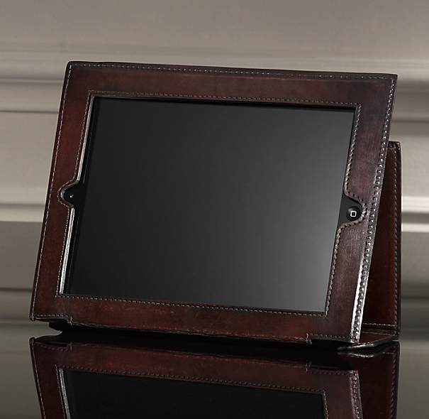 Artisan Leather iPad® Cover - Chocolate