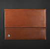 Artisan Leather iPad® Cover with Bluetooth® Keyboard - Chestnut