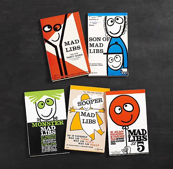 Mad Libs (Set of 5)