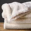 Luxe Faux Fur Throw - Arctic Fox