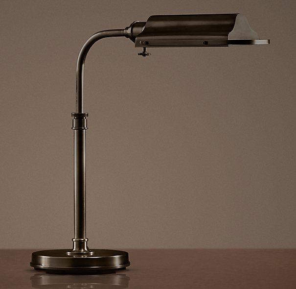Writer's Task Table Lamp Bronze