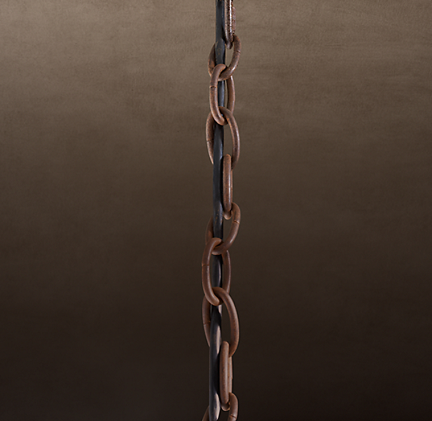 Chandelier Extension Chain Rustic Iron