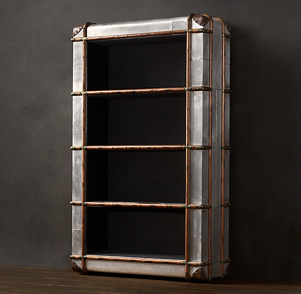 Richard's Metal Bookcase