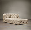 Soho Tufted Upholstered Right-Arm Chaise