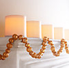Large Beaded Garland - Gold