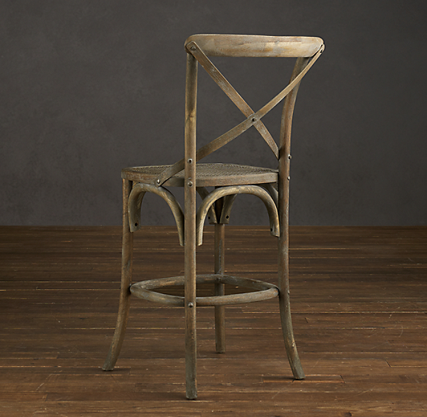 Madeleine armless counter stool set of 2 - Madeleine bar stool ...