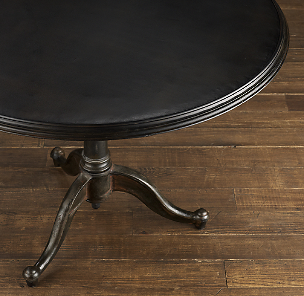 18th C French Tilt Top 40 Quot Brasserie Table