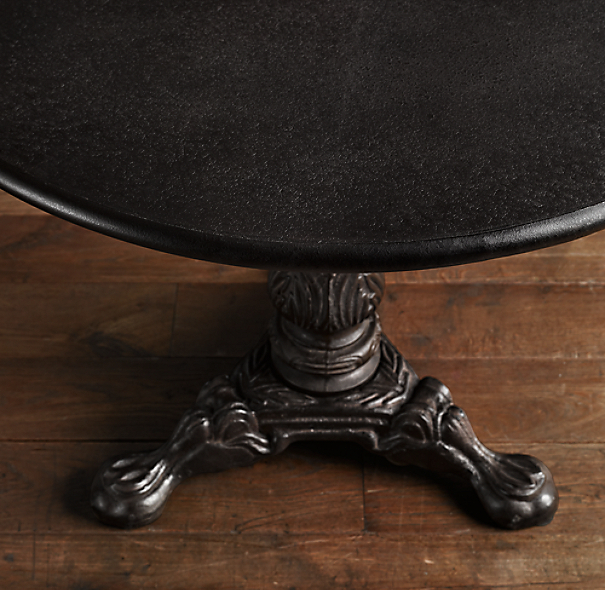 19th C. French Acanthus Brasserie Table