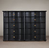 18th C. Italian Baroque Wood 10-Drawer Dresser