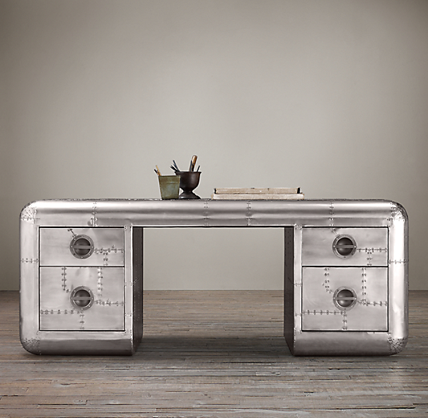 "77"" Blackhawk Trunk Desk"