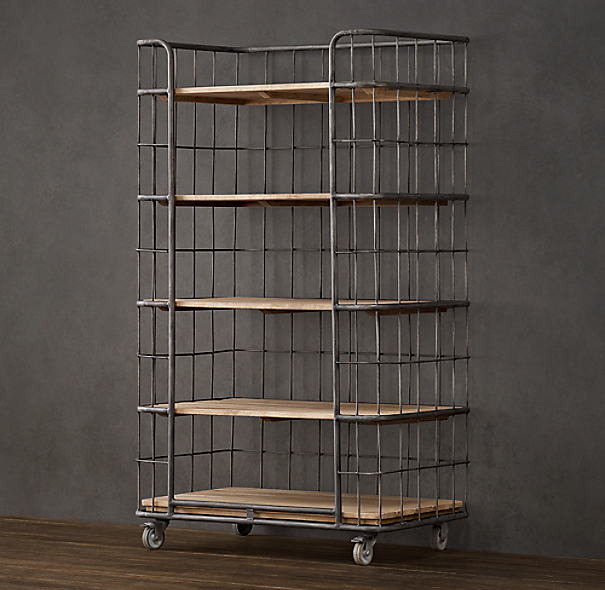 "37"" Circa 1900 Baker's Rack Tower"