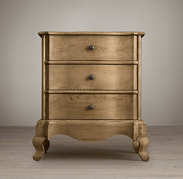 18th C. Danish Rococo Closed Nightstand