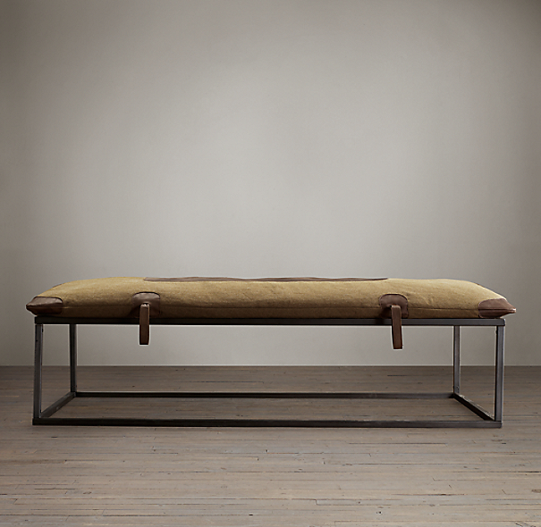 20th C. Czech Gym Mat Coffee Table
