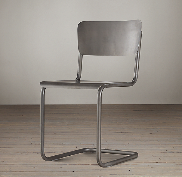 Metal Schoolhouse Chair