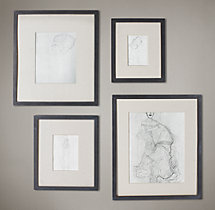 Black Metal Gallery Frames - Medium