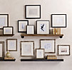 Black Metal Gallery Frames - Narrow
