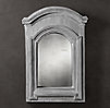 European Zinc Dormer Mirror Double Arch