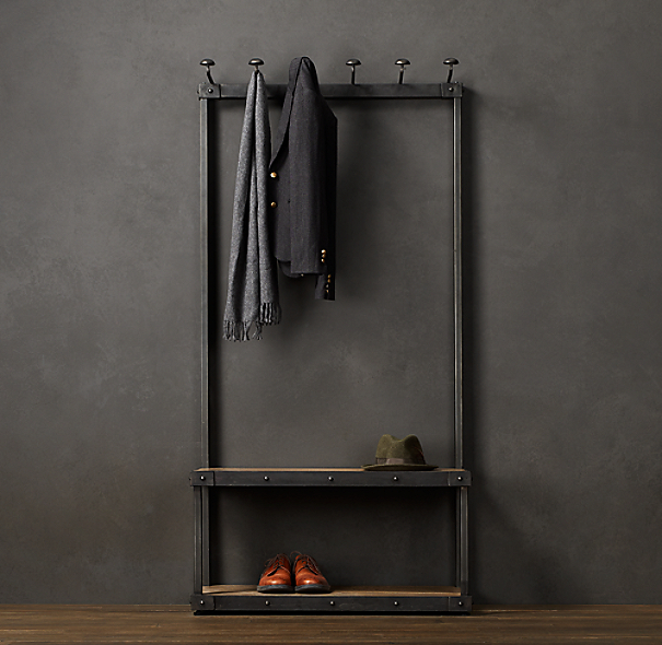 Coat Rack Bench 3 39