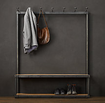 Coat Rack Bench 5'