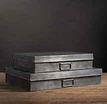 Industrial Metal Office Storage Doccument Box