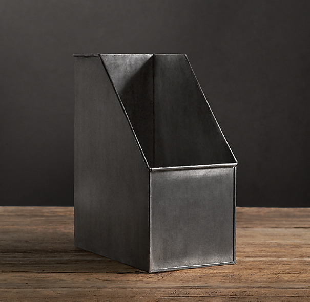 Industrial Metal Office Storage Magazine Box