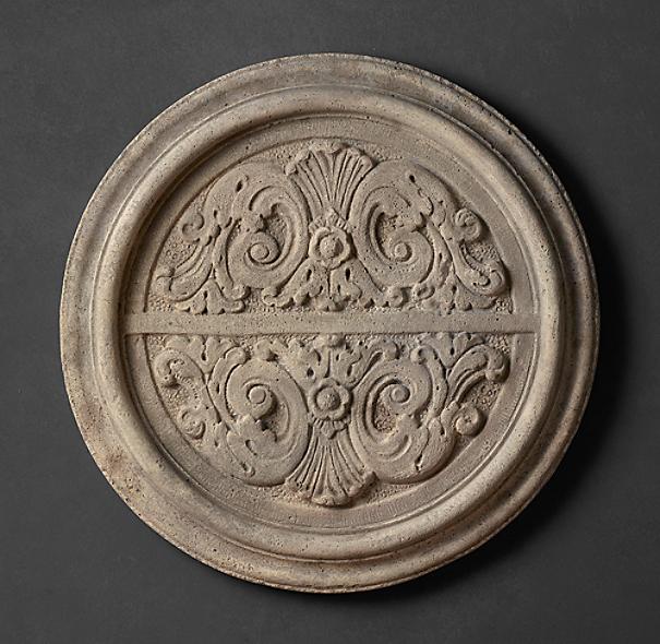 Botanical Floral Medallion Stone