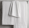 Linen-Bordered 650-Gram Turkish Towels Dune Collection