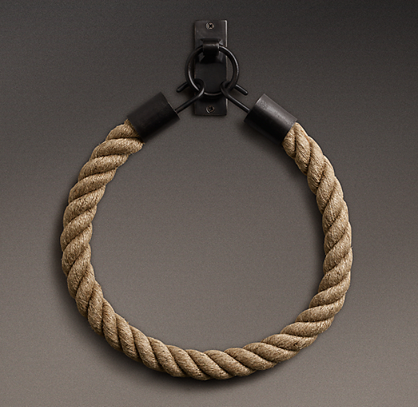 Dakota Rope Tieback Mocha
