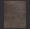 Hand-Braided Jute Rug Swatch - Chocolate