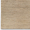 Hand-Braided Jute Rug Swatch - Natural