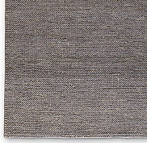 Hand-Braided Jute Rug Swatch - Platinum