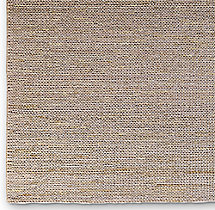 Hand-Braided Jute Rug Swatch - Silver
