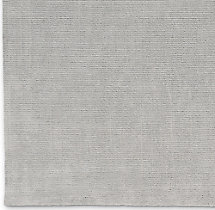 Distressed Wool Rug Swatch - Silver