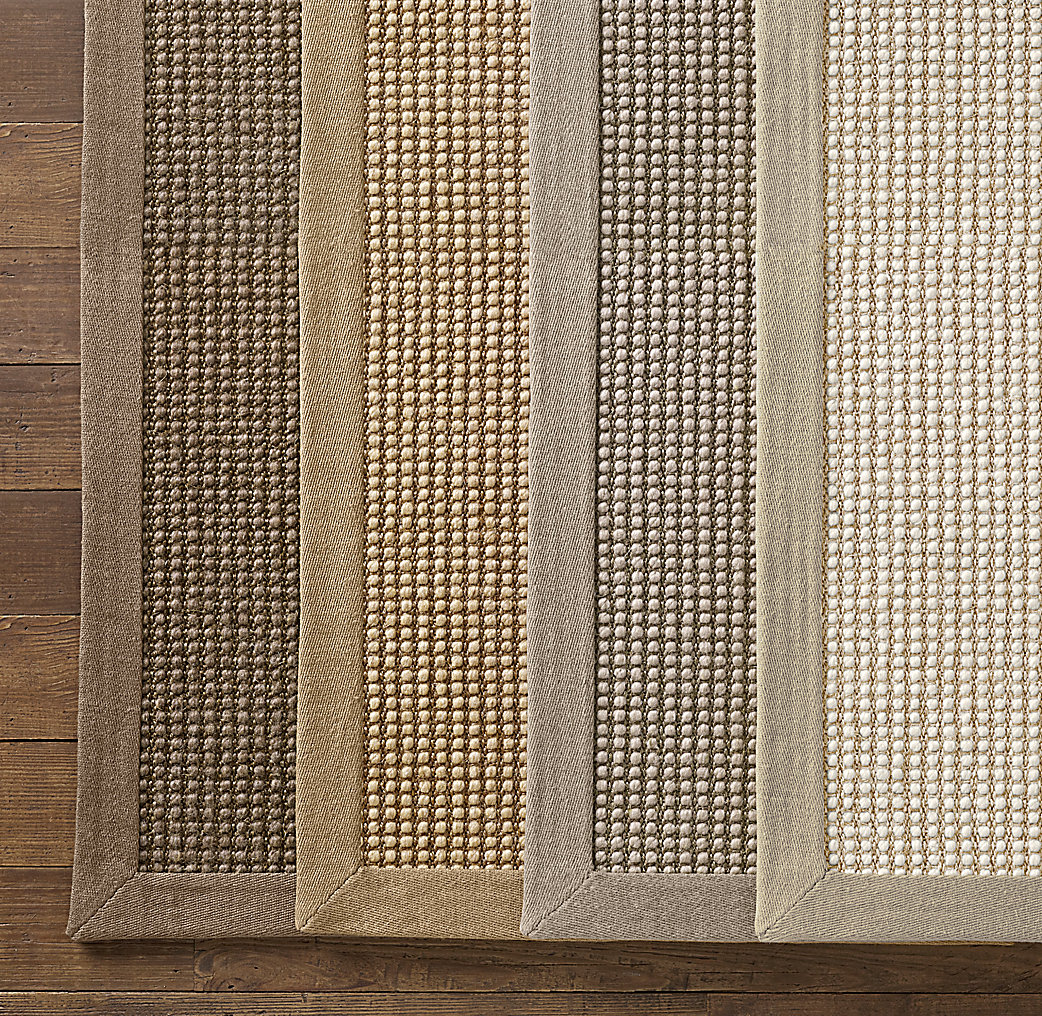 Belgian Looped Wool Sisal Rug