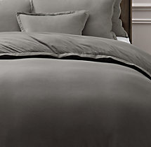 Vintage-Washed Jersey Duvet Cover