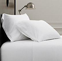Vintage-Washed Jersey Bedding Sheet Set