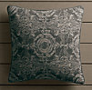 Perennials® Côte d&#39Azur French Multi-Tile Pillow Cover  Graphite
