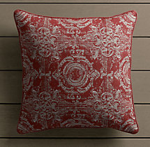Perennials® Côte d&#39Azur French Multi-Tile Pillow Cover Poppy