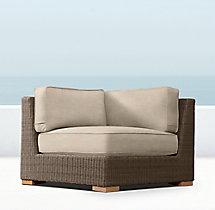 Biscayne Luxe Corner Chair Cushion