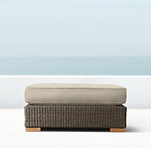Biscayne Luxe Ottoman Cushion
