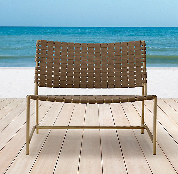Montecito Armless Lounge Chair