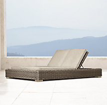 Provence Luxe Double Chaise Cushion