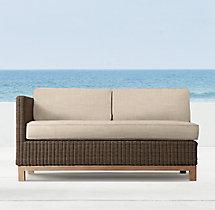 """53"""" Malibu Left/Right-Arm Sofa Cushion"""