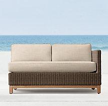 "53"" Malibu Right-Arm Sofa"