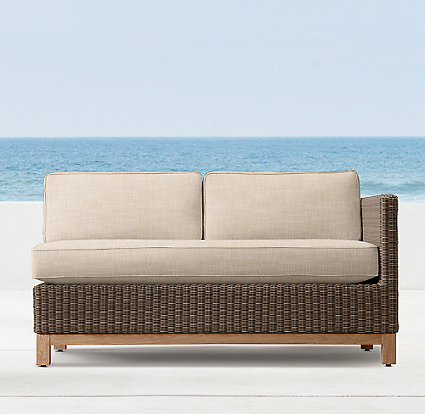 "53"" Malibu Right-Arm Sofa"