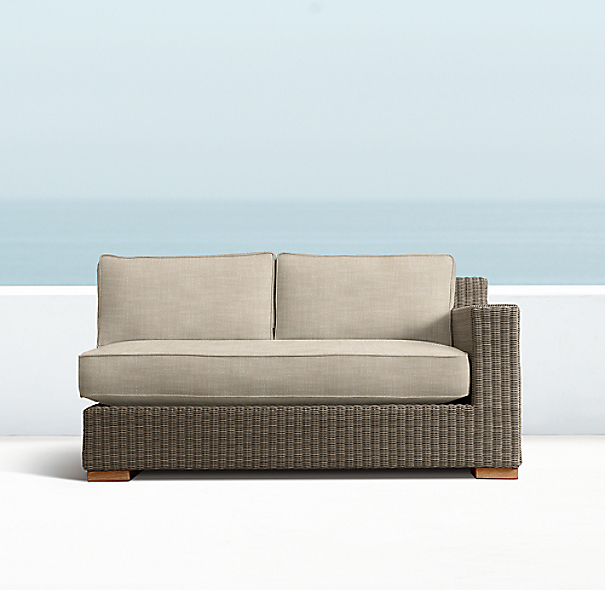 "57"" Biscayne Right-Arm Sofa"