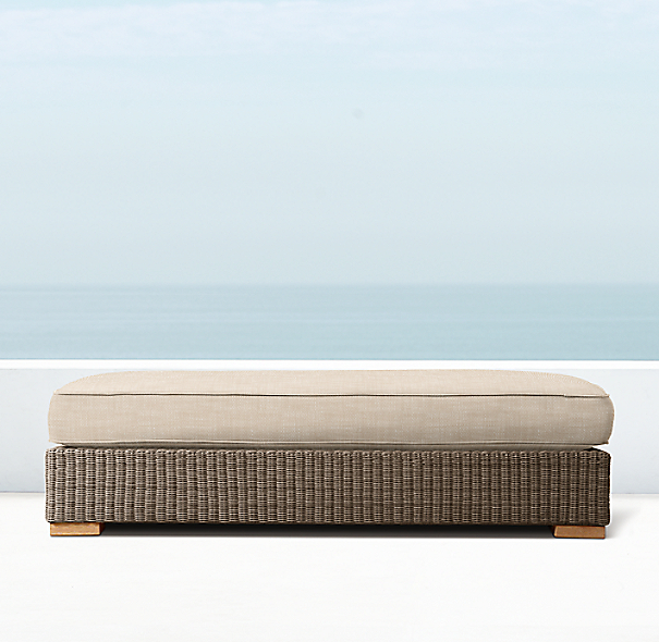 Biscayne Coffee Table Ottoman Cushions