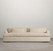 Belgian Slope Arm Upholstered Daybed Sofa