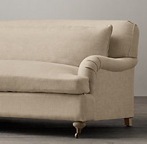 5' Belgian Classic Roll Arm Upholstered Sofa