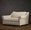 5' Belgian Roll Arm Upholstered Sofa